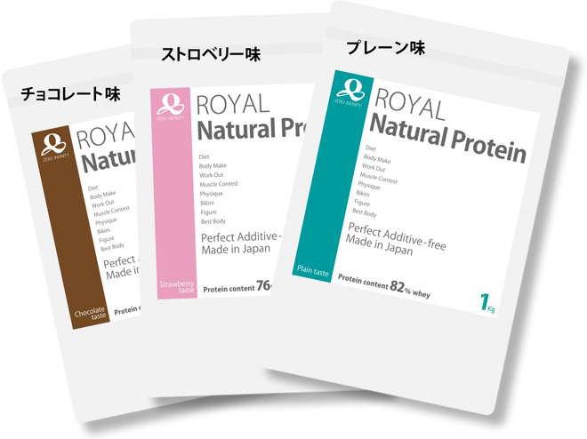 Package Design:Royal Natural Protein